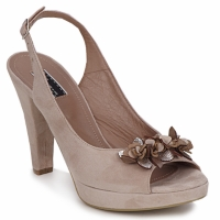Chaussures Femme Sandales et Nu-pieds Vic CALIPSO DRAL Beige
