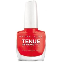 Beauté Femme Vernis à ongles Gemey Maybelline - Vernis TENUE & STRONG PRO - 493 Blodd Orange Autres