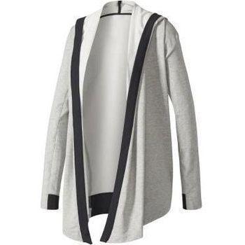Vêtements Femme Sweats adidas Originals Wrap ME UP Coverup Gris