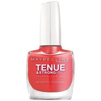 Beauté Femme Vernis à ongles Gemey Maybelline - Vernis TENUE & STRONG PRO - 490 Rose Salsa Autres