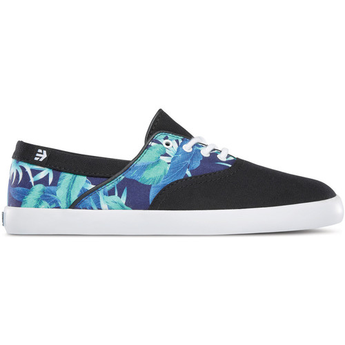 Etnies CORBY WOS BLACK WHITE PRINT  - Chaussures Baskets basses Femme