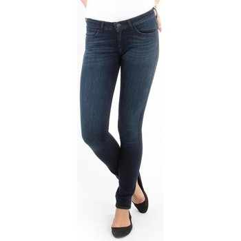 Vêtements Femme Jeans skinny Wrangler Courtney blue shelter W23SU466N niebieski