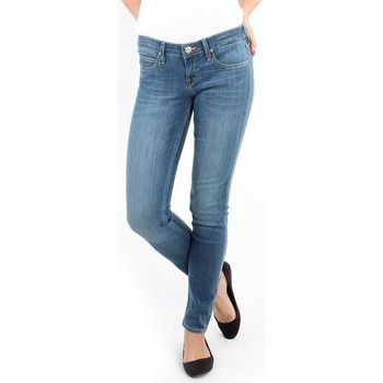 Vêtements Femme Jeans skinny Lee Spodnie Damskie  357SVIX Lynn  Skinny niebieski