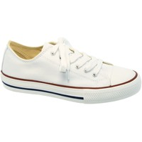 Chaussures Femme Baskets basses Victoria 6550 Blanc Toile