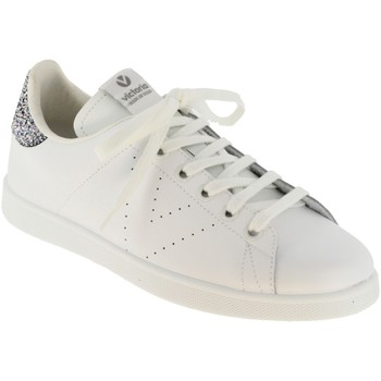 Chaussures Femme Baskets basses Victoria 125104 Blanc cuir