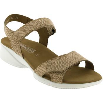Chaussures Femme Sandales et Nu-pieds Mephisto Francesca Camel nubuck