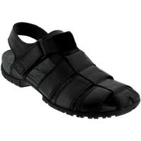 Chaussures Homme Sandales et Nu-pieds Mephisto BASILE Noir cuir