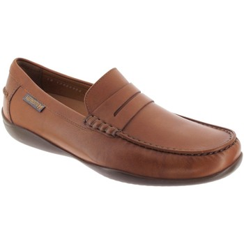 Chaussures Homme Mocassins Mephisto Igor Marron cuir