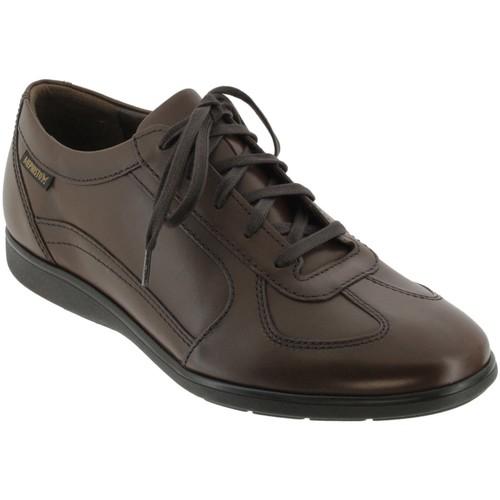 23beba097c10 Mephisto Leonzio Marron cuir - Chaussures Baskets basses Homme 165,00 €