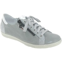 Chaussures Femme Baskets basses Mobils By Mephisto HAWAI Gris cuir