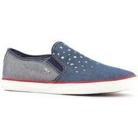 Chaussures Femme Slip ons Geox Wmns  J Kiwi G.D  J62D5D-0ZDAS-C4001 niebieski