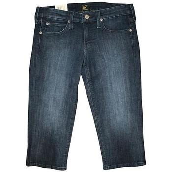 Vêtements Femme Shorts / Bermudas Lee CAPRI L352EWNS niebieski