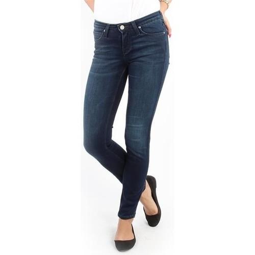 Vêtements Femme Jeans skinny Lee Scarlett Skinny Pitch Royal L526WQSO granatowy
