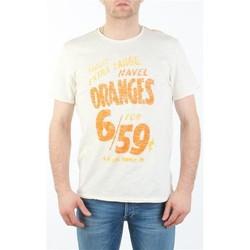 Vêtements Homme T-shirts manches courtes Lee MARCANTILE L668ABBC biały