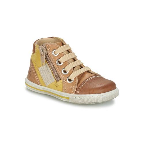 Chaussures Enfant Baskets montantes Citrouille et Compagnie MIXINE marron