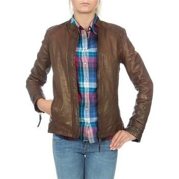 Vêtements Femme Vestes / Blazers Wrangler skórzana  WR4030ZC81 brązowy