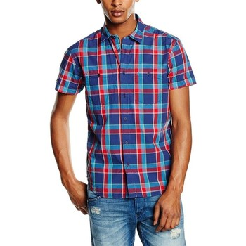 Vêtements Homme Chemises manches courtes Wrangler ® S/S Two Pocket Shirt 5882C2RC Wielokolorowy