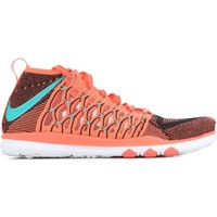 Chaussures Homme Baskets mode Nike Train Ultrafast Flyknit 843694-863 pomarańczowy