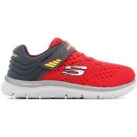 Chaussures Enfant Baskets basses Skechers Skech-Lite-Micro 95054N-RDCC czerwony
