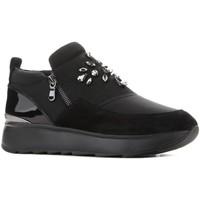 Chaussures Femme Slip ons Geox D Gendry D745TA 01522 C9999 czarny