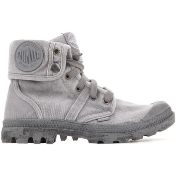 Chaussures Femme Baskets montantes Palladium Manufacture Pallabrouse Baggy 92478-066 szary