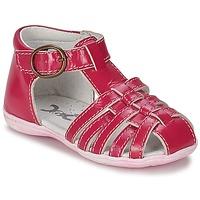 Chaussures Fille Sandales et Nu-pieds Citrouille et Compagnie RINE Fuchsia