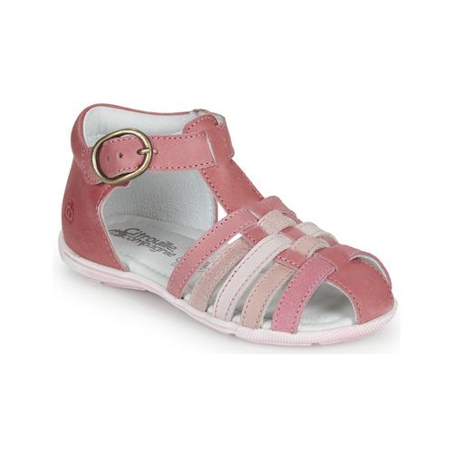 337696e498f Chaussures Fille Sandales et Nu-pieds Citrouille et Compagnie RINE Rose    Multicolore