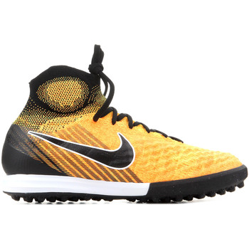 Chaussures Homme Football Nike JR Magistax Proximo II DF TF 843956 801 pomarańczowy