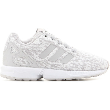 Chaussures Enfant Baskets basses adidas Originals Adidas ZX Flux C BY9857 szary