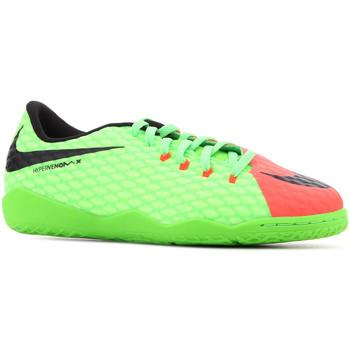 Chaussures Enfant Sandales et Nu-pieds Nike JR Hypervenomx Phelon III IC 852600 308 zielony, pomarańczowy