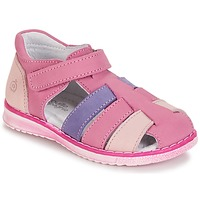 Chaussures Fille Sandales et Nu-pieds Citrouille et Compagnie FRINOUI Lilas / Rose / Fuchsia