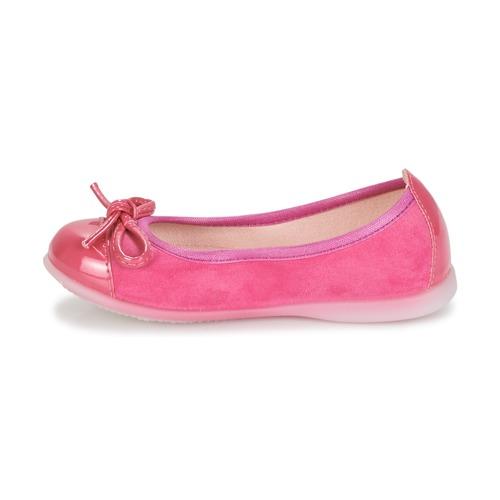 Citrouille Et Compagnie Mixoubet Fuchsia - Livraison Gratuite- Chaussures Ballerines Enfant 2399 aDSEW