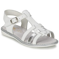 Chaussures Fille Sandales et Nu-pieds Citrouille et Compagnie ROLUI Blanc