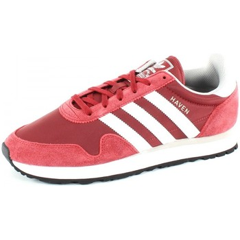 Chaussures Baskets basses adidas Originals Haven Rouge