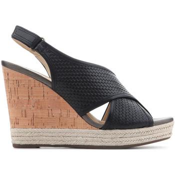 Chaussures Femme Sandales et Nu-pieds Geox D Janira C D82P6C 06RBC C9999 czarny