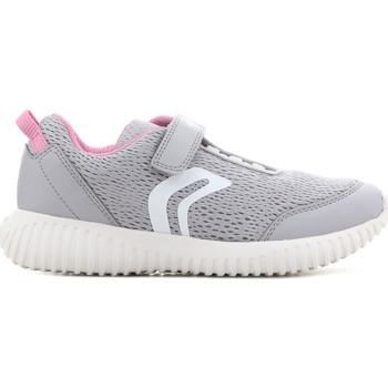 Chaussures Enfant Sandales et Nu-pieds Geox J Waviness G.C J826DC 01454 C1296 szary, różowy