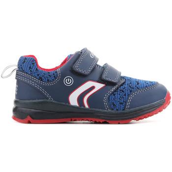 Chaussures Garçon Baskets basses Geox B Todo B.C B8284C 011BC C0735 granatowy
