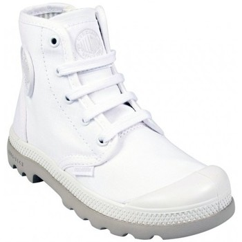 Chaussures Fille Baskets montantes Palladium HI Lite Kid Blanc Blanc