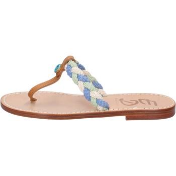 Chaussures Femme Sandales et Nu-pieds Eddy Daniele chaussures femme  sandales multicolor cuir aw522 multicolor