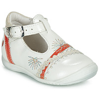 Chaussures Fille Ballerines / babies GBB MARINA VVN NACRE-CORAIL DPF/KEZIA