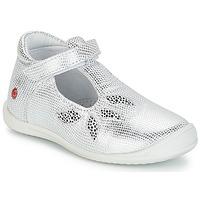 Chaussures Fille Ballerines / babies GBB MARGOT VTE ARGENT DPF/ZAFRA