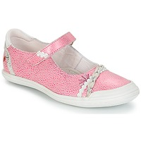 Chaussures Fille Baskets basses GBB MARION VTE ROSE-BLANC DPF/ZARA