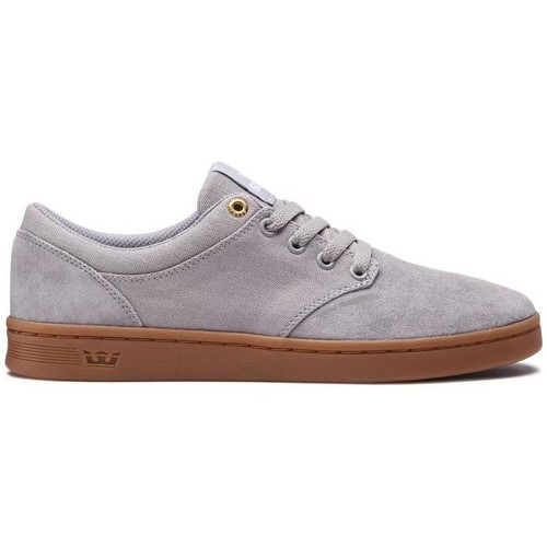 Supra Chaussures  CHINO COURT light grey gum Gris - Chaussures Baskets basses Homme