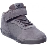 Chaussures Homme Baskets montantes Supra ELLINGTON STRAP grey black speckle Gris