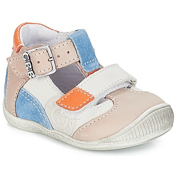 Chaussures Garçon Sandales et Nu-pieds GBB PIERRE VTC GRIS-BLEU DPF/RAIZA