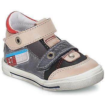 Chaussures Garçon Baskets basses GBB PEPINO VTE GRIS-JEANS DPF/SNOW
