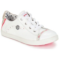 Chaussures Fille Baskets basses Catimini PANDA VTE BLANC DPF/VENUS