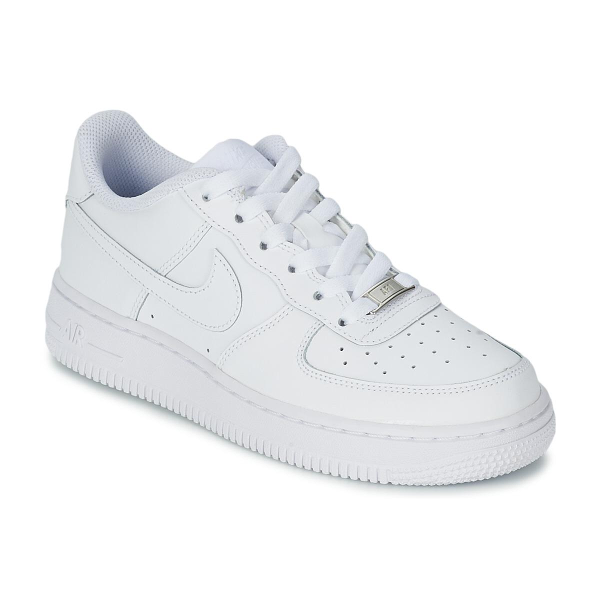 nike air force 1 blanc livraison gratuite avec chaussures baskets basses. Black Bedroom Furniture Sets. Home Design Ideas