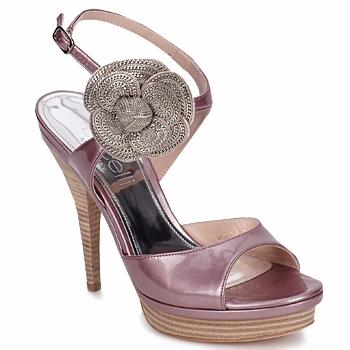 Chaussures Femme Sandales et Nu-pieds Fericelli MINKA vernice cipria
