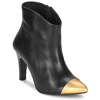 Bottines / Boots Pastelle ARIEL NOIR-or 350x350